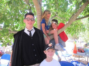 Harry Potter: Sorcerer's Stone Camp Begins @ Sonoma Garden Park