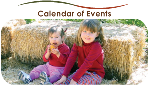 calendar of events tab